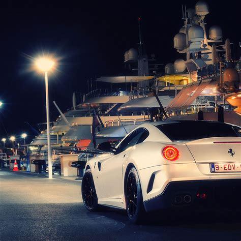 フェラーリ 車 夜景 風景の壁紙