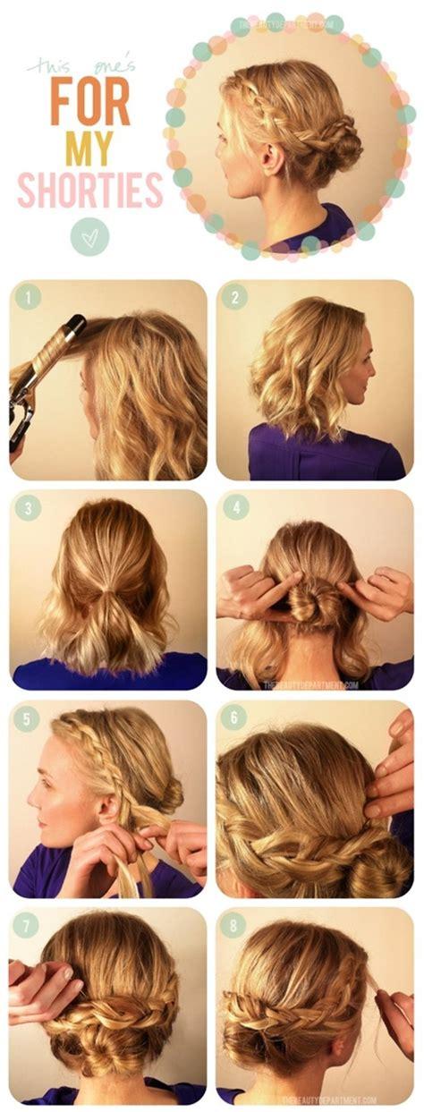 haircut tutorials for medium hair 15 braided updo hairstyles tutorials pretty designs 4083
