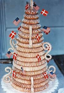 traditional danish kransekage marzipan cakes and cookies With traditional norwegian wedding cake