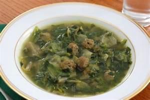 Escarole Soup with Meatballs