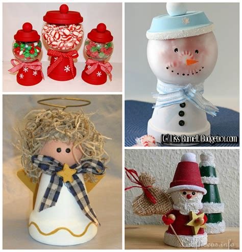 creative terra cotta pot christmas crafts crafty morning