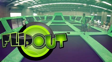 Flip Out - Trampolining Complex - YouTube