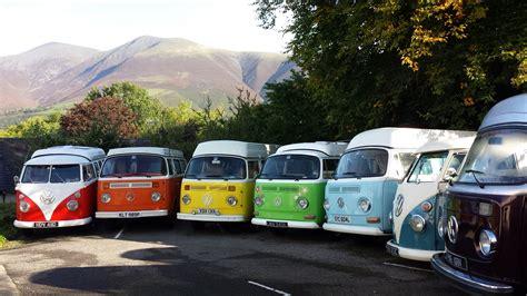 Rainbow Camper Hire Lake District Cumbria, VW camper van hire