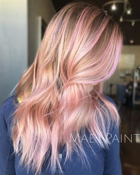 With Pink Highlights Hairstyles by 40 Ideas Of Pink Highlights For Major Inspiration In 2019
