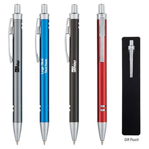 Custom Imprinted Double View Pens  Metal Pens