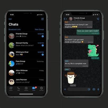 Whatsapp Dark Mode Iphone Ios Theme App
