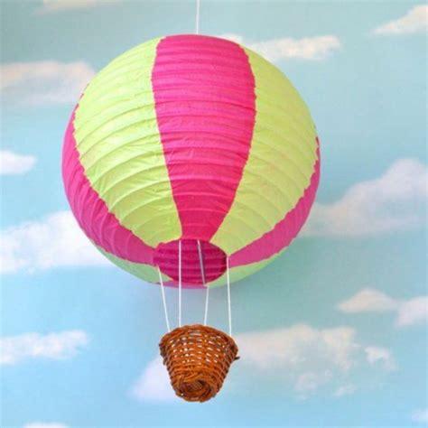 luftballon lampe kinderzimmer dekoration bild idee