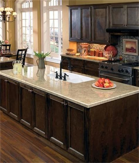 cherry kitchen cabinets traditional countertop from wilsonart 174 feature products 6428