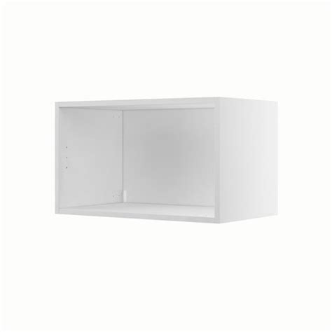 caisson de cuisine caisson de cuisine haut h60 35 delinia blanc l 60 x h 35 x p 35 cm leroy merlin