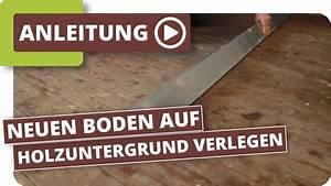 Schweißbahn Verlegen Auf Holz : holzuntergrund wie verlege ich meinen neuen boden teil1 youtube ~ A.2002-acura-tl-radio.info Haus und Dekorationen