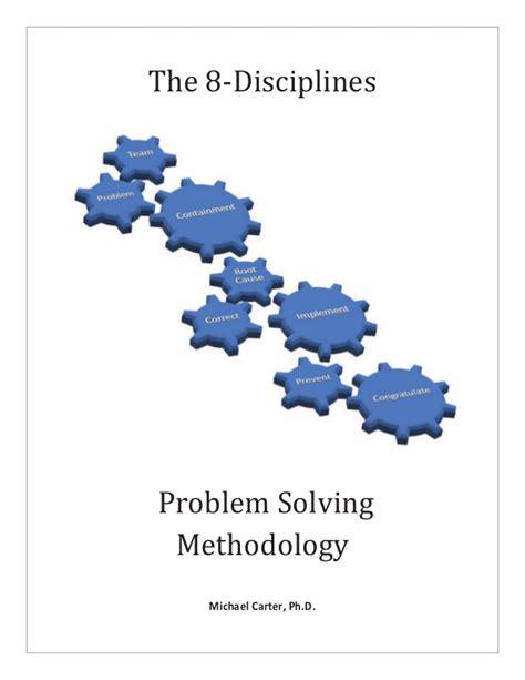 disciplines problem solving methodology