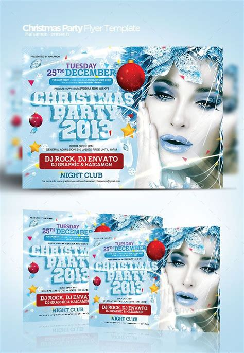 christmas party flyer template  images party flyer