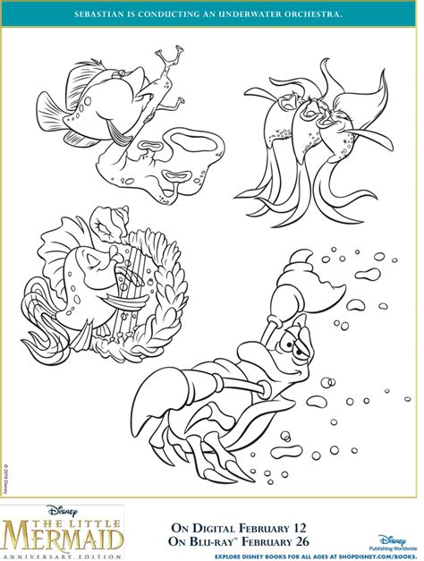 mermaid coloring pages  printables april golightly