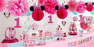 1st Birthday Minnie Mouse Party Supplies - Party City Canada