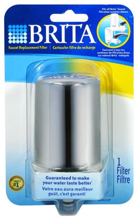brita faucet mount chrome white filter walmart ca