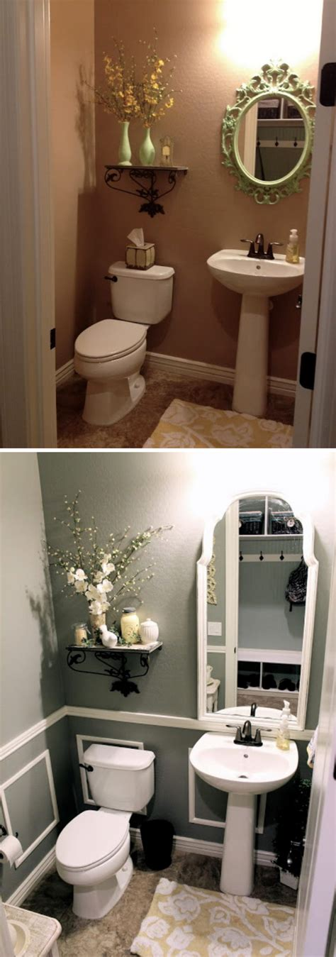 Small Bathroom Makeovers On A Budget by Before And After 20 Awesome Bathroom Makeovers Hative