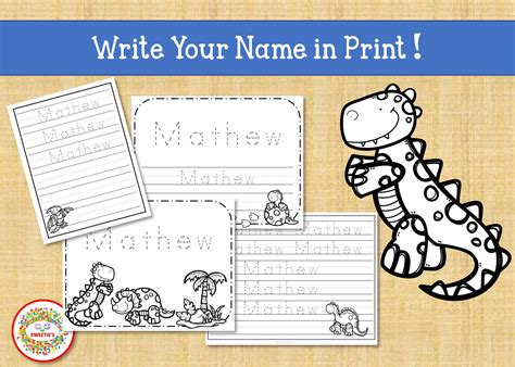 tracing handwriting worksheet personalized