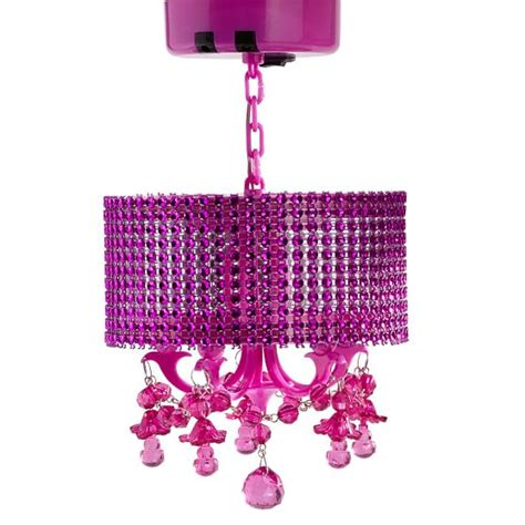pink locker chandelier pbteen
