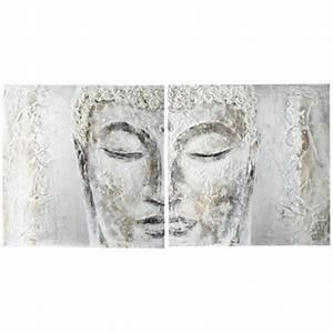 tableau et toile tableaux et toiles modernes de With bouddha maison du monde
