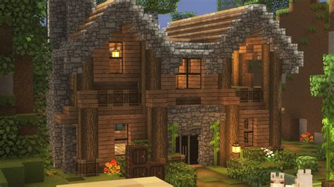 house   forest minecraft houses minecraft cabin cute minecraft houses