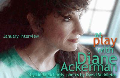 Interview Diane Ackerman
