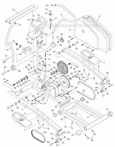 Proform Pfel25070 Parts List And Diagram