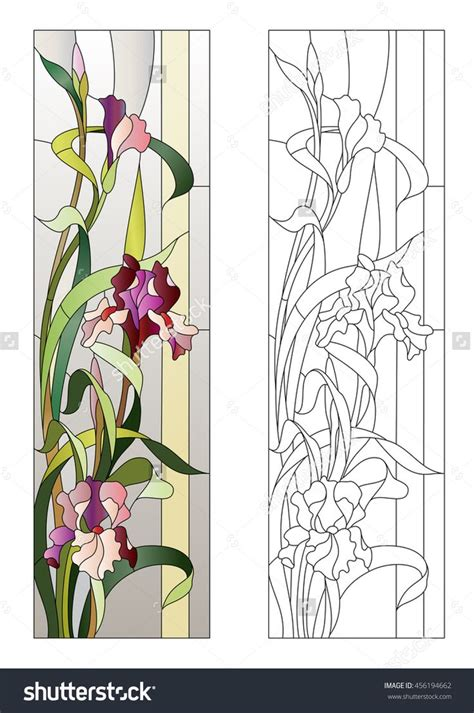 Floral Stained Glass Pattern Book best 25 glass painting patterns ideas on