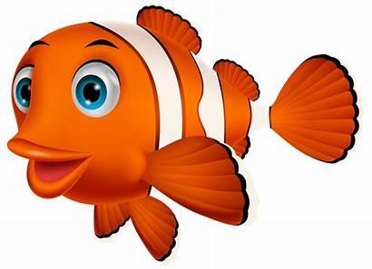 Fish Cartoon Clown Clipart Nemo Clownfish Transparent