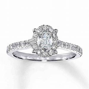 1 carat oval engagement rings wedding and bridal inspiration With oval diamond wedding rings