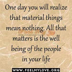 Materialistic T... Material Movie Quotes