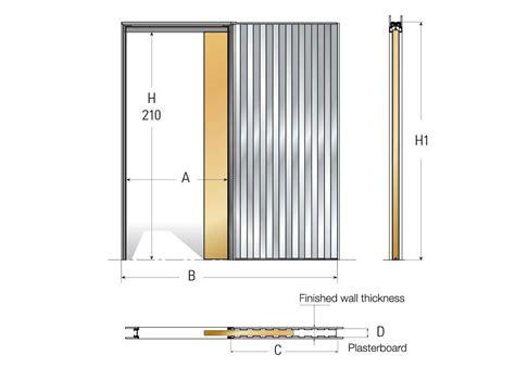taille d une porte taille porte coulissante portes de dressing coulissantes