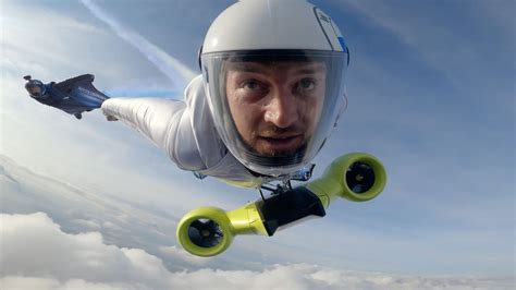 Electrified Wingsuit Powered By BMW i Could Achieve A Top ...