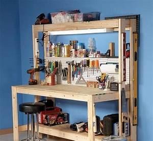 Workbench Plans - 5 You Can DIY in a Weekend - Bob Vila
