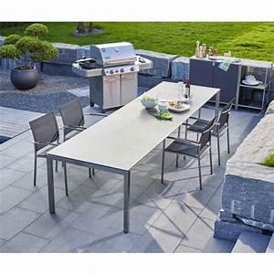 Tisch Mit Keramikplatte : auszugtisch gemma langlebiger und sehr pflegeleichter gartentisch mit kratzfester keramikplatte ~ Eleganceandgraceweddings.com Haus und Dekorationen