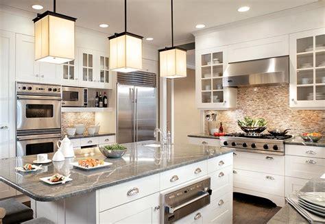 Kitchen Backsplash Ideas For Granite Countertops - 25 stunning transitional kitchen design ideas