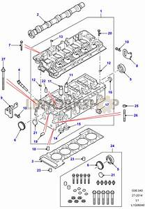 Cylinder Head - Td5 To 1a622423