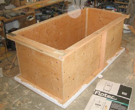homemade thermal storage tank
