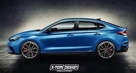 maserati dark blue hyundai i30 n fastback render looks intriguing