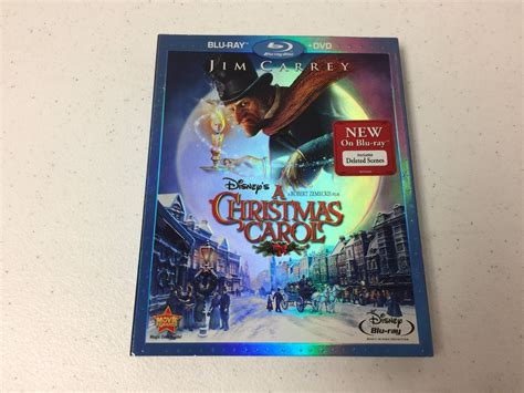 Blu Ray Slipcover Only No Discscase A Christmas Carol