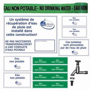 Kit Recuperation Eau De Pluie : kit marquage de s curit r cup ration eau de pluie ~ Dailycaller-alerts.com Idées de Décoration