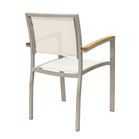 chaise aluminium exterieur chaise alu exterieur chaise exterieur bois table et