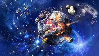 Stardust Super Wallpapers Background Planet Desktop Exploded