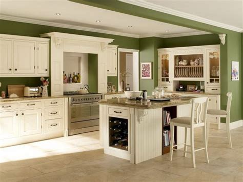 white kitchen with green walls green kitchen units kitchen wall colors with green 1836