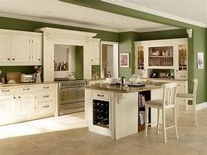 green kitchen units kitchen wall colors with green With kitchen colors with white cabinets with four seasons wall art