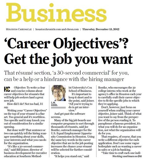 Article On Resumes by Resume Article In Today S Chronicle Touches All The Bases