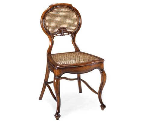 chair with wicker seat and back country farmhouse