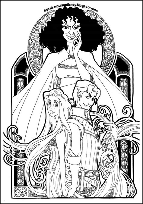 beauty   beast stained glass window coloring page coloring home