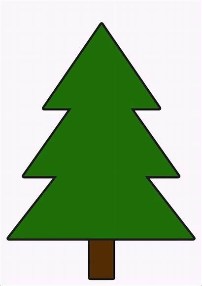 Tannenbaum Clipart Vorlage Zum Basteln Weihnachtsbaum Papier
