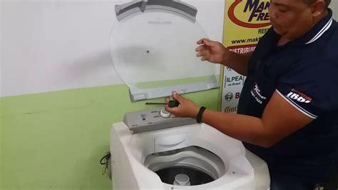 como trocar  tampa da maquina de lavar brastemp bwl