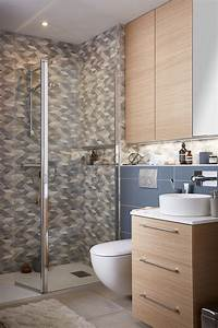 Carrelage Douche à L Italienne : superbe carrelage dans cette douche l 39 italienne leroy ~ Melissatoandfro.com Idées de Décoration